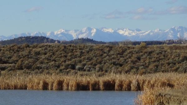 """Image: """"Archuleta County, Colorado 6: Navajo Reservoir,"""" by Alice B. Clagett, 28 November 2015 … CC BY-SA 4.0"""