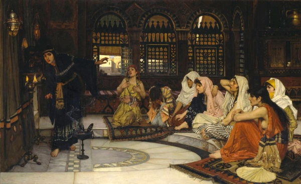 Consulting the Oracle 1884 John William Waterhouse 1849-1917 Presented by Sir Henry Tate 1894 http://www.tate.org.uk/art/work/N01541
