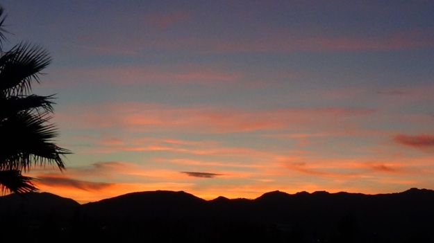 """Image: """"Sunset in Los Angeles 1,"""" by Alice B. Clagett, 27 January 2014, CC BY-SA 4.0"""