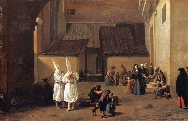 """Image: """"The Flagellants,"""" by Pieter van Laer, ca. 1635, from Wikimedia Commons. This work is in the public domain in its country of origin and other countries and areas where the copyright term is the author's life plus 100 years or less; PD-US."""
